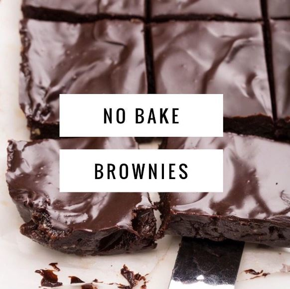 No Bake Brownies